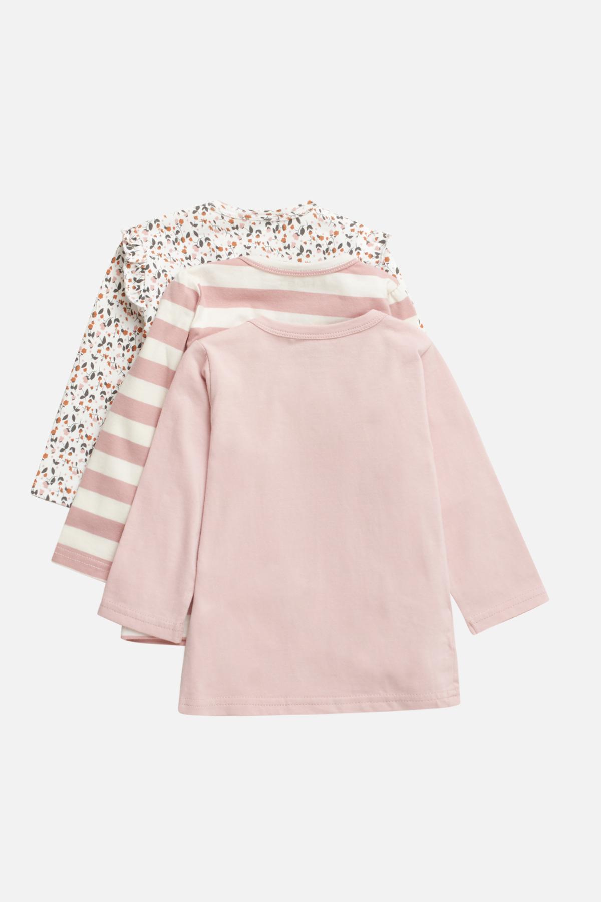 Girl - Alda - T-shirt 3-pack