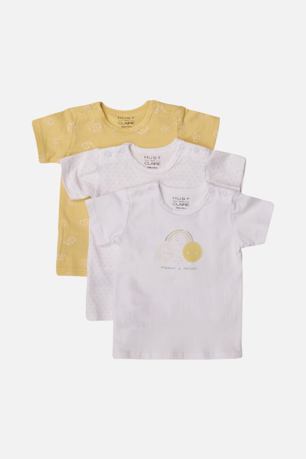 Newborn - Alvi - T-shirt S/S 3 pack