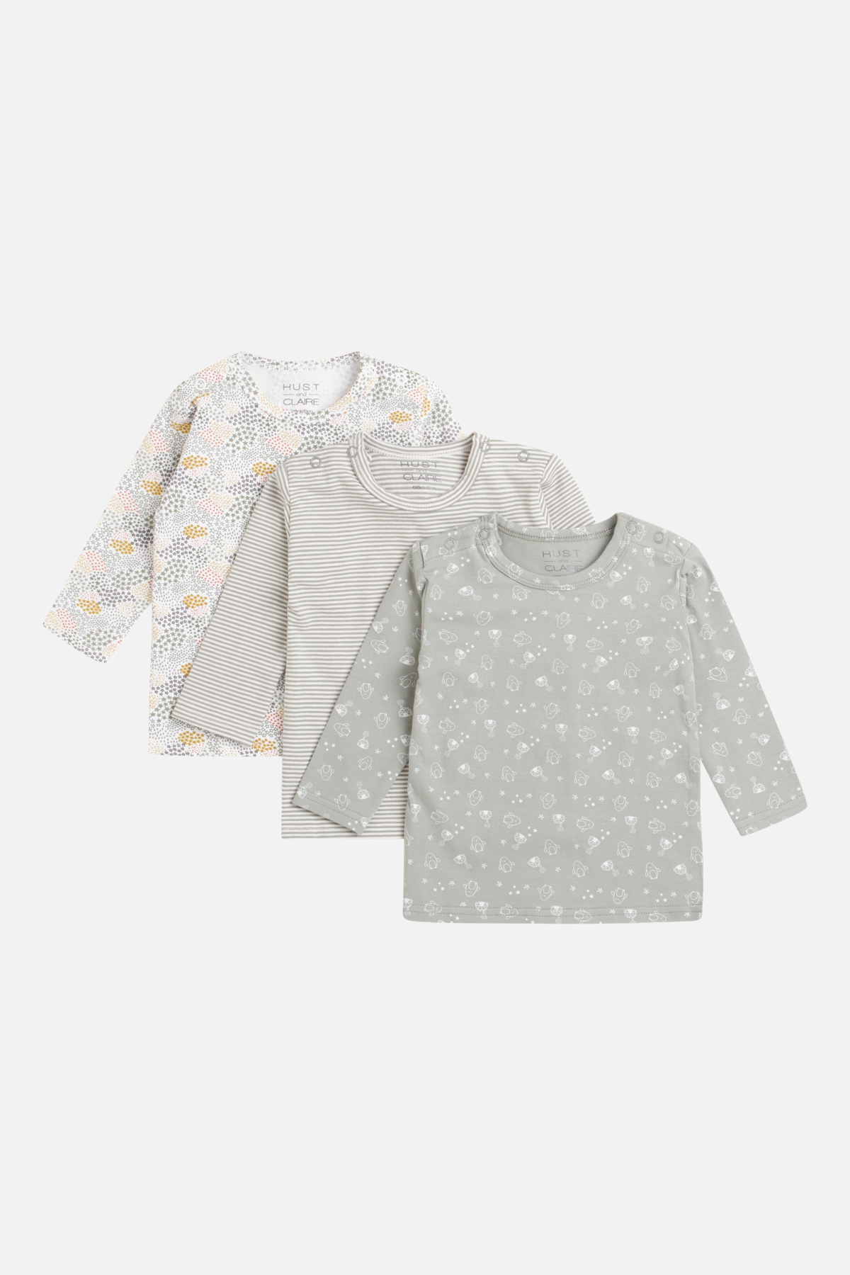 Newborn - Amar - T-shirt 3-pack