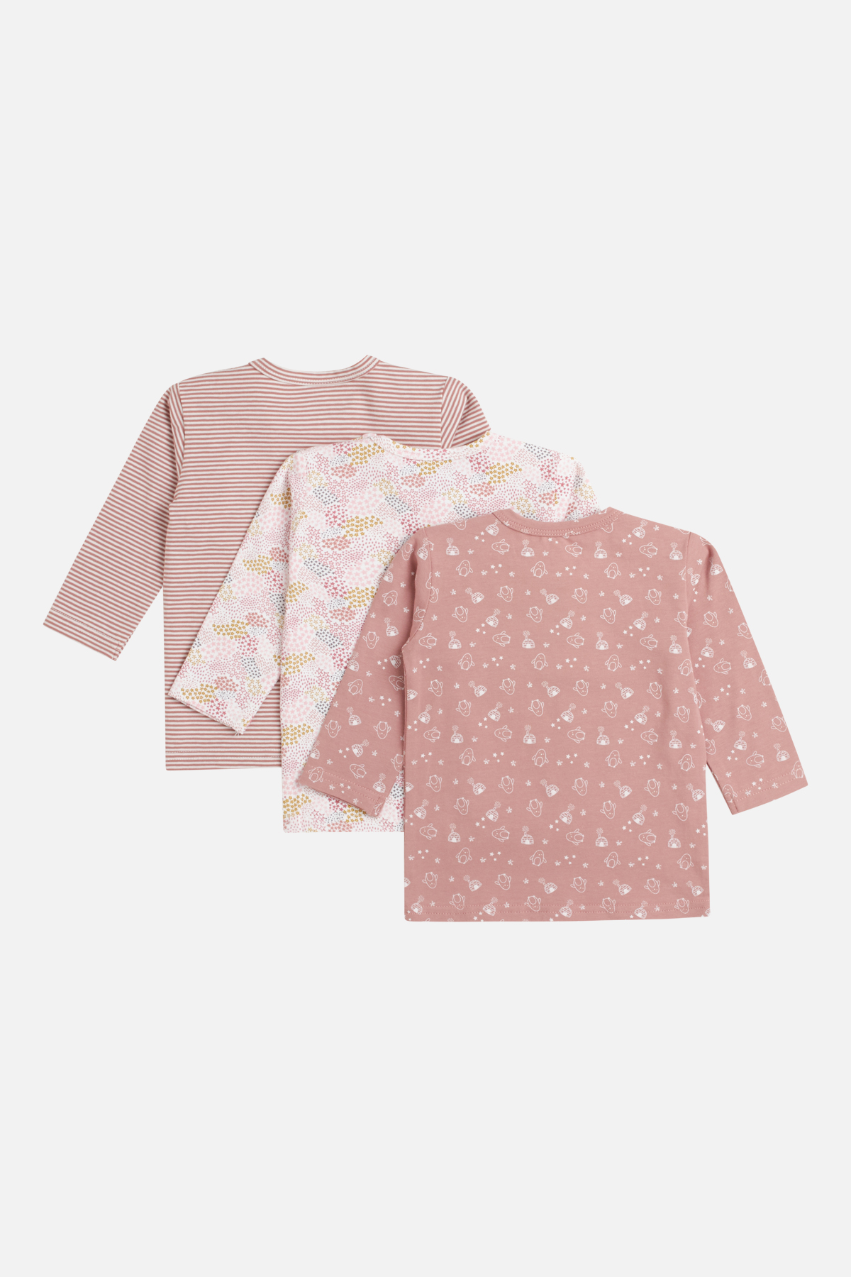 Newborn - Amar - T-shirt 3-pack